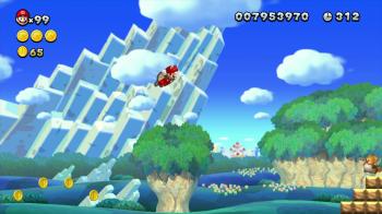 New Mario U - Acorn Power Up