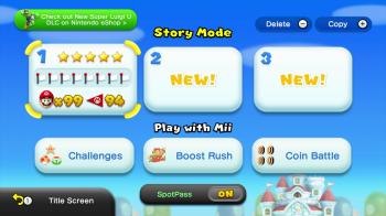 New Mario U - Five Stars