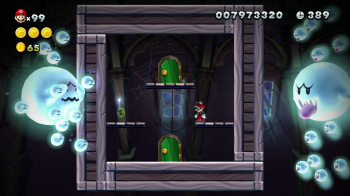 New Mario U - Ghost House