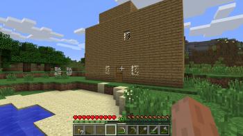 Minecraft First House Exterior