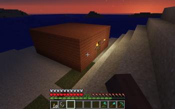 Minecraft Beach Shack