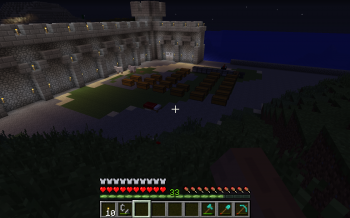 Minecraft Island Corner