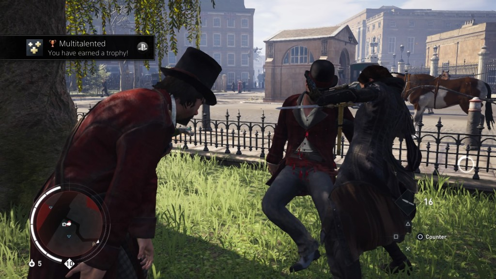 Assassin's Creed Syndicate - Combat