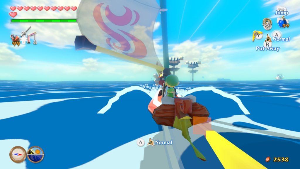 Games of 2017 Zelda The Wind Waker HD